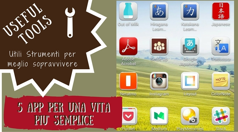 5 App really useful vita semplice